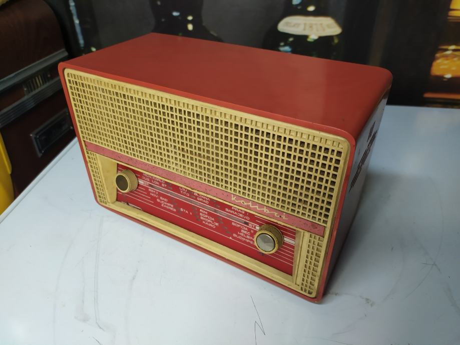 Stari radio KOLIBRI 1965g