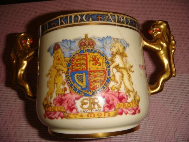 Suvenir šalica Edvard VIII krunidba 1937.g.