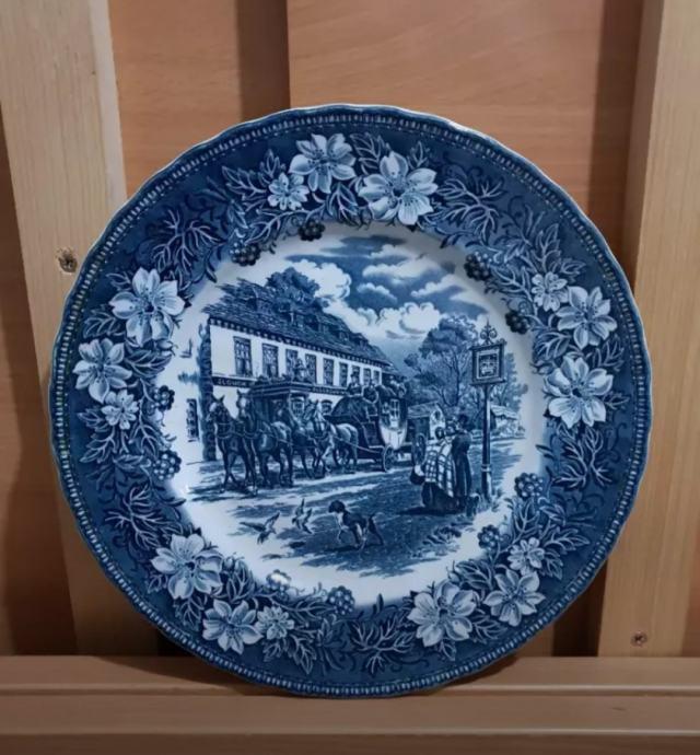 Tanjur Royal Tudor Ware 1828., Coaching Taverns