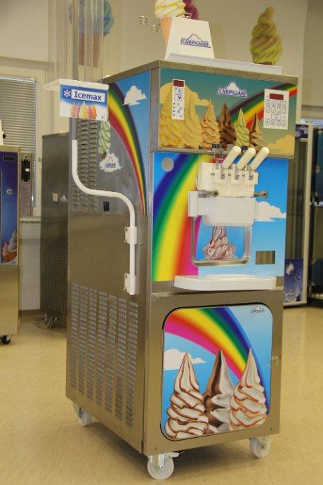carpigiani rainbow 3 sladoledni stroj soft sladoled