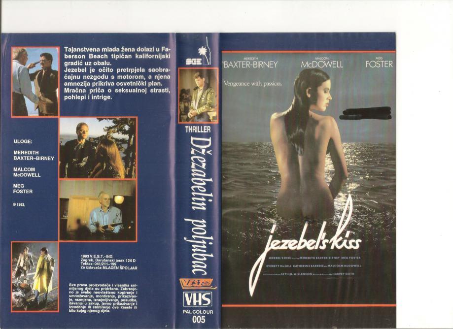 FILM - DŽEZABELIN POLJUBAC  - VHS