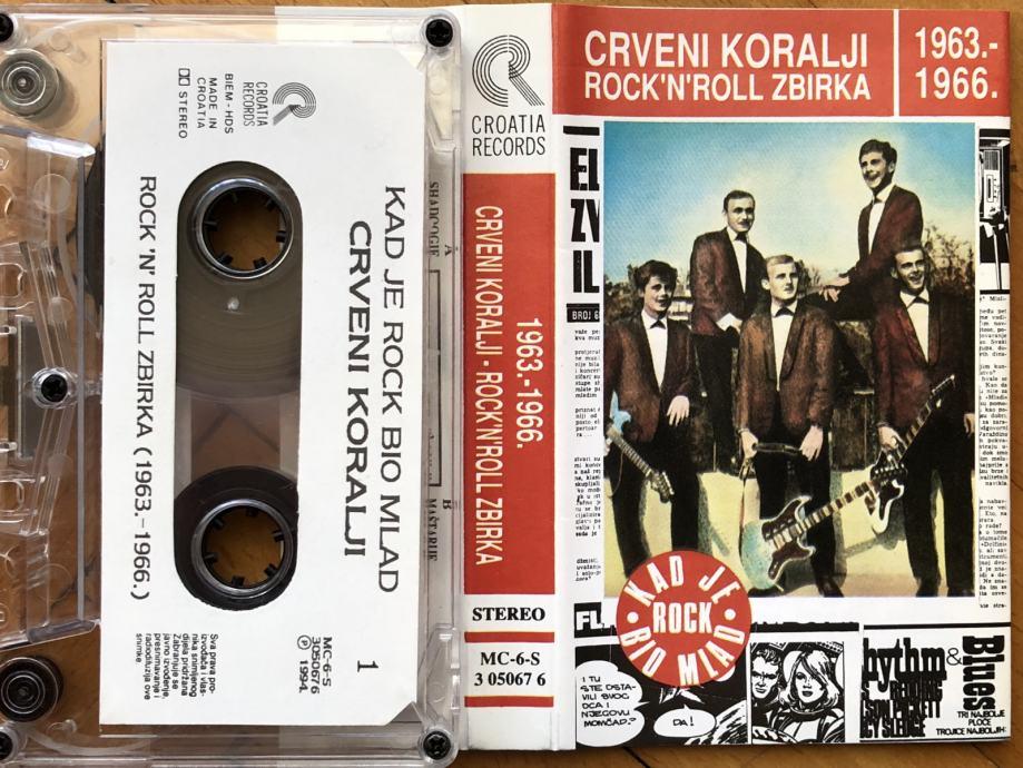 MC / Crveni koralji / Rock'n'roll zbirka 1963.-1966. / 1994. / Pula