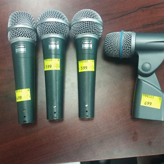 SHURE Beta mikrofoni