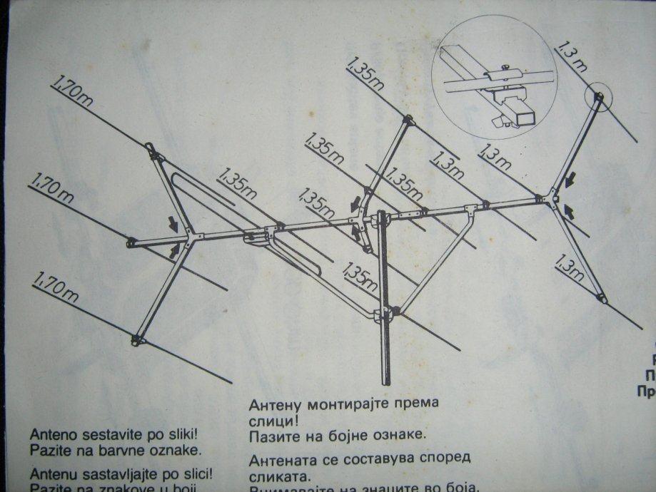 UKV antena Iskra stereo 1402