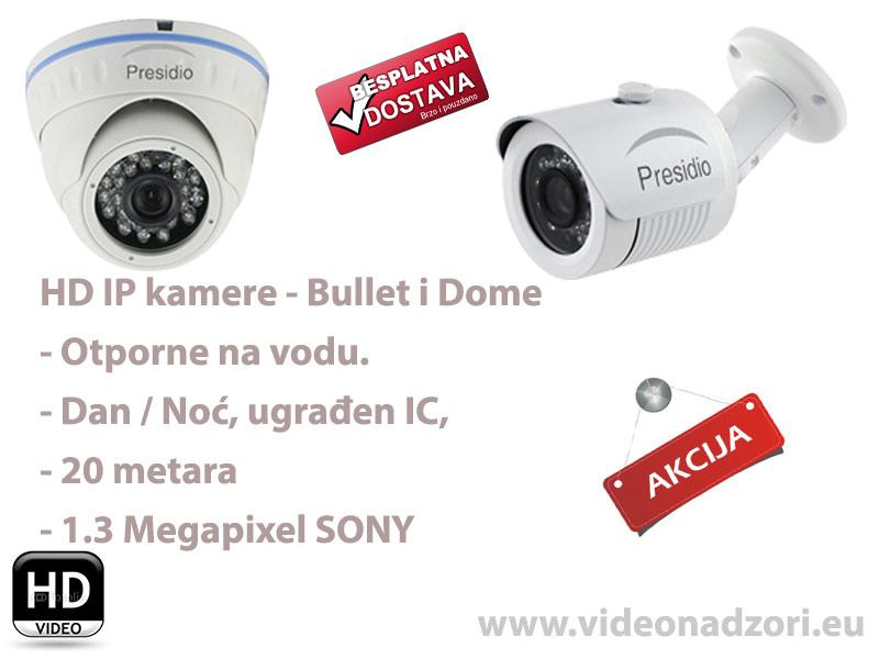 HD Video nadzor IP kamera - pregled preko mobitela i računala - AKCIJA