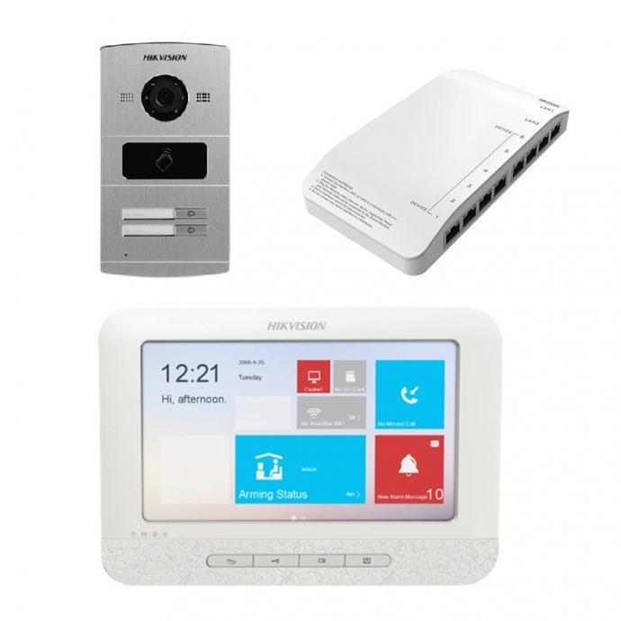 IP Portafon  HIKVision komplet 2 i više korisnika, !! TOP CIJENA !!