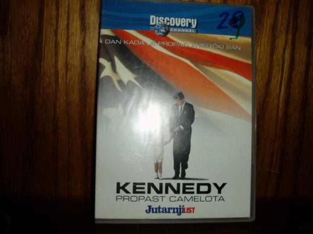 KENNEDY PROPAST CAMELOTA DVD