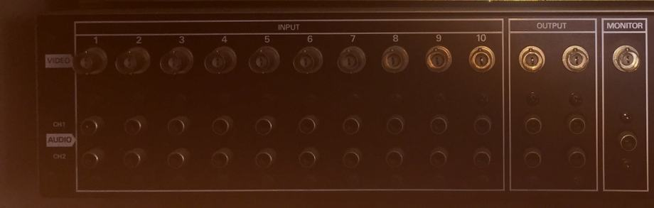 Panasonic AG-SW100 audio video produkcija sklopka