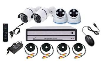 Video nadzor - Kompleti sa 2, 4, 8... kamera