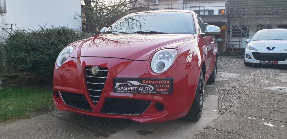 Alfa Romeo MiTo 1,4 D.N.A veliki servis,Garancija,alu16 2 seta,kartice