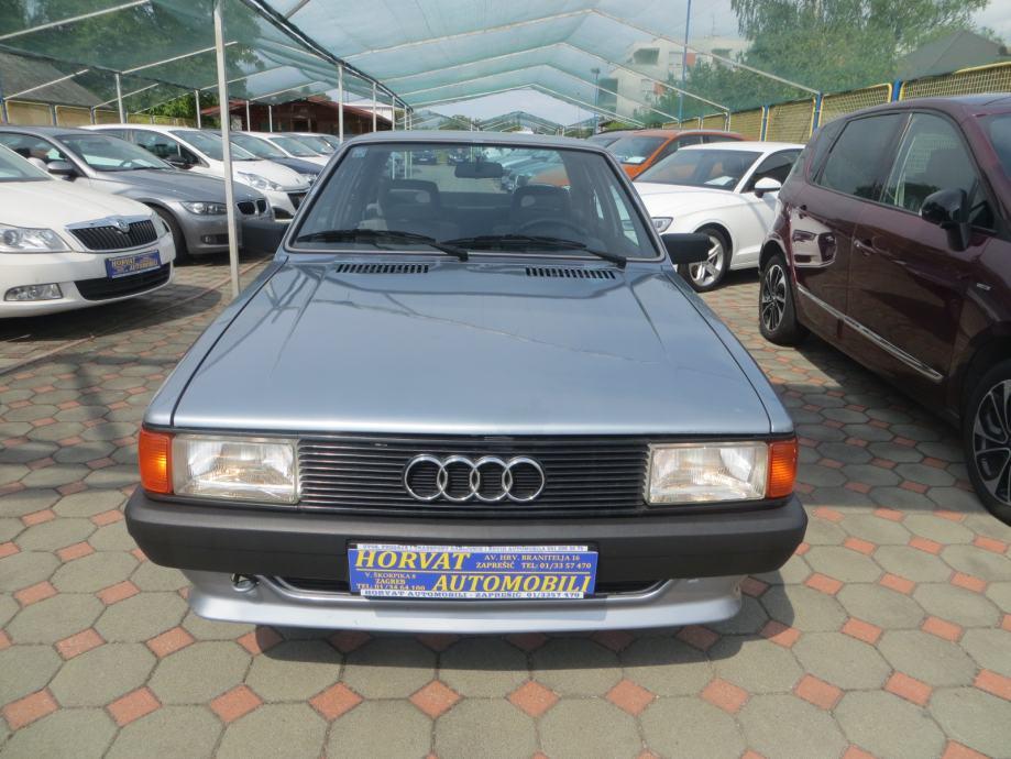 Audi 80 SC 1,6,1986.; Oldtimer; 1Vl; HR vozilo; 73 tkm; TOP stanje, 1986 god.