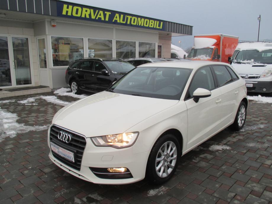 Audi A3 1,6 TDI S-tronic Attraction; HR auto; 93tkm; Reg.1g.