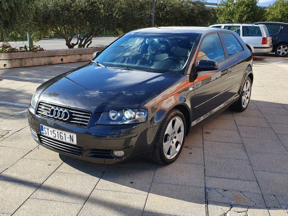 Audi A3 2,0 TDI S line, xenon, BOSE