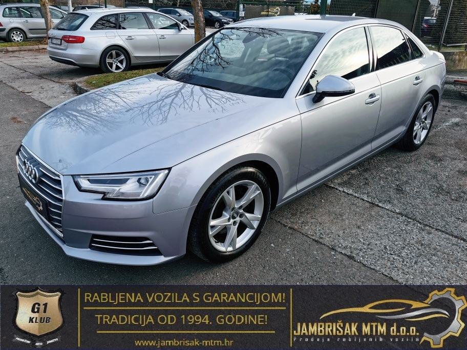 ⭐️Audi A4 2,0 TDI SPORT◽LED - MATRIX◽3-zone CLIMA◽JAMSTVO 12mj ✔️⭐