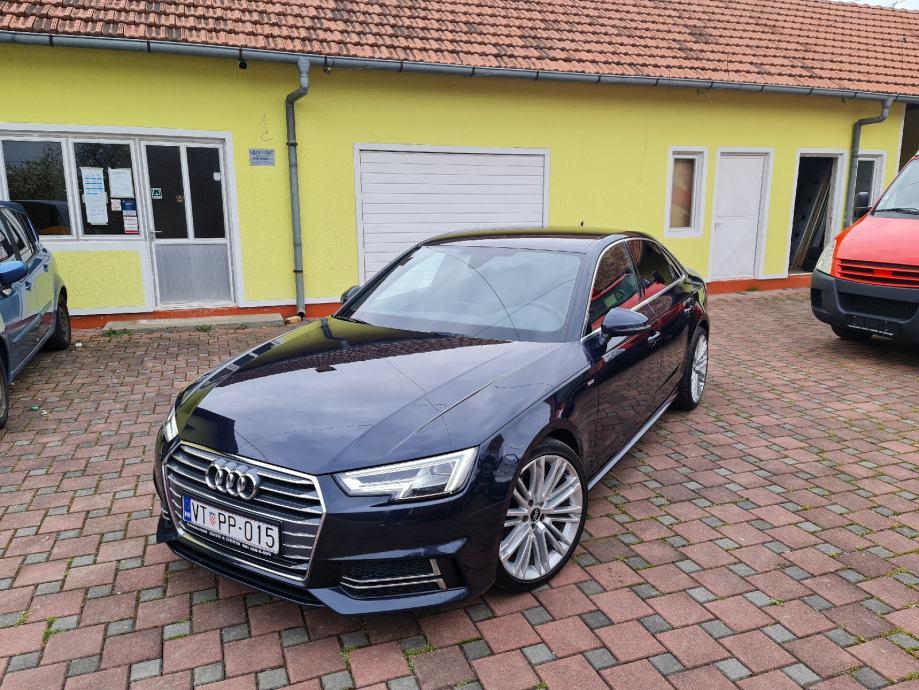 Audi A4 3,0 TDI REZERVIRAN 3X-S-LINE*MATIX LED*ALU 19*F1*SIDE ASIST