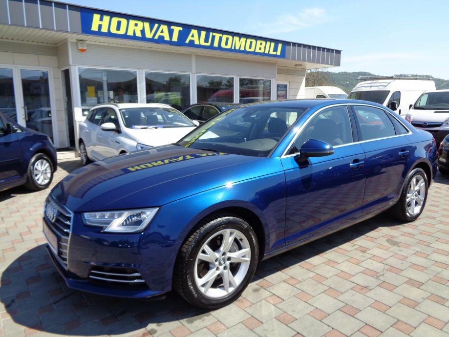 Audi A4 3,0 TDI Sport S-Tronic;Navi;Virtual;LED;Kamera;MFU;Gri.sje.;..