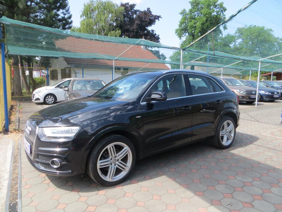 Audi Q3 2,0 TDI,140Ks,S-Line,1Vl,Samo 133.000Km,Bi-Xenon+Led,Toop,