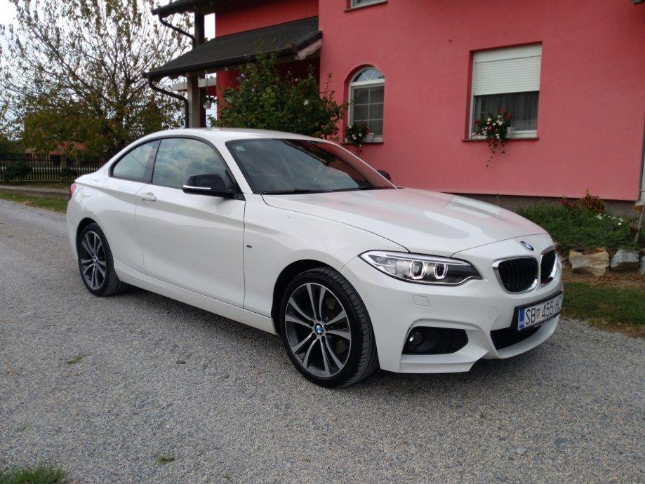 BMW 220D COUPE 2015GOD M OPTIK SPORT LINE KAO NOV MOGUCA ZAMIJENA