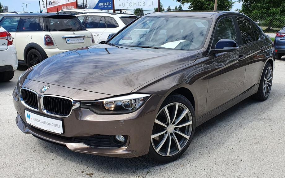 BMW serija 3 DIESEL, STAGE 1,  NAVY, MODEL 2015, SA PRIJEPISOM
