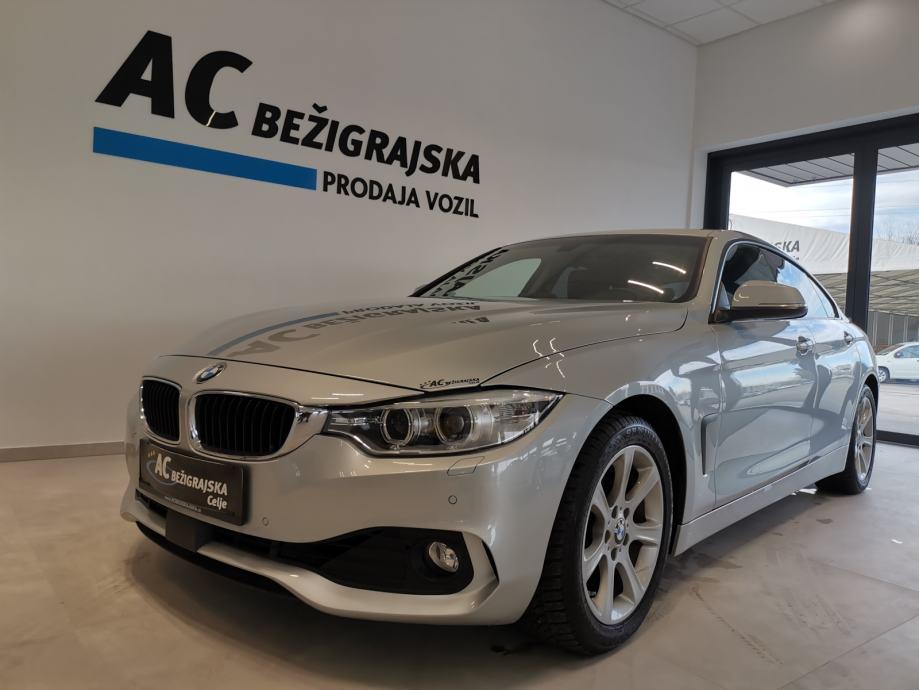 BMW serija 4: 420i Gran Coupé-BIXENON-NAVI-2XPDC-ALU-JAMSTVO 12M