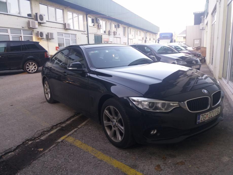 BMW serija 4 Gran Coupe 420d 190 ks 66000 km 2016 g.