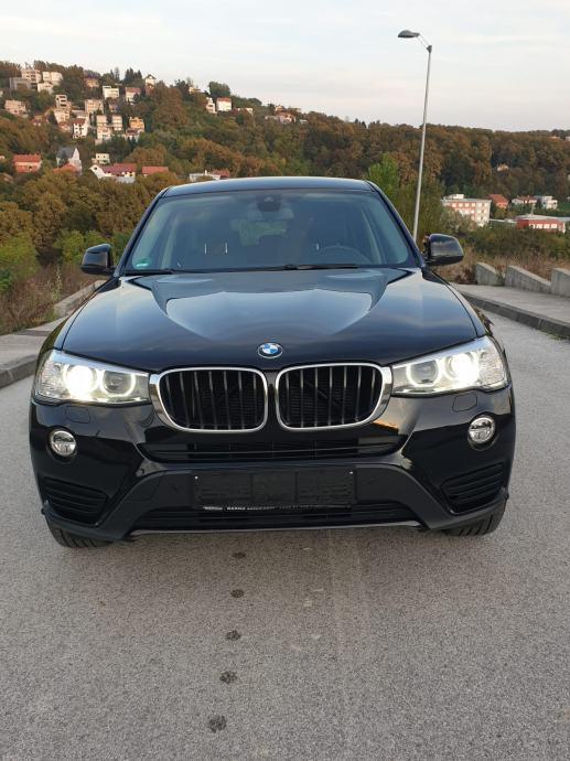 BMW X3 Advantage, koža,velika navigacija,servisna, reg.11/20