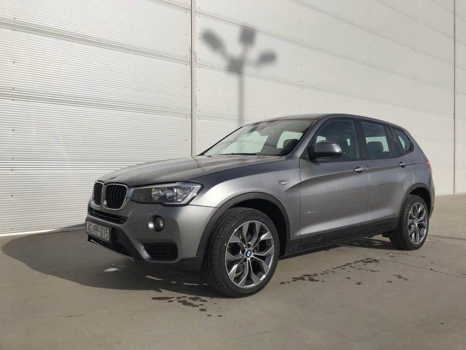 BMW X3 20d xdrive*AUTOMATIK*kamera*PROFI NAVI*HEAD UP*2015.REG:07/2020