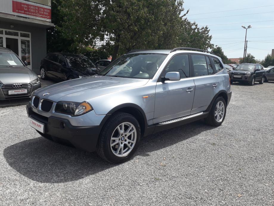 BMW X3 3,0 d 4×4/REZERVIRAN/