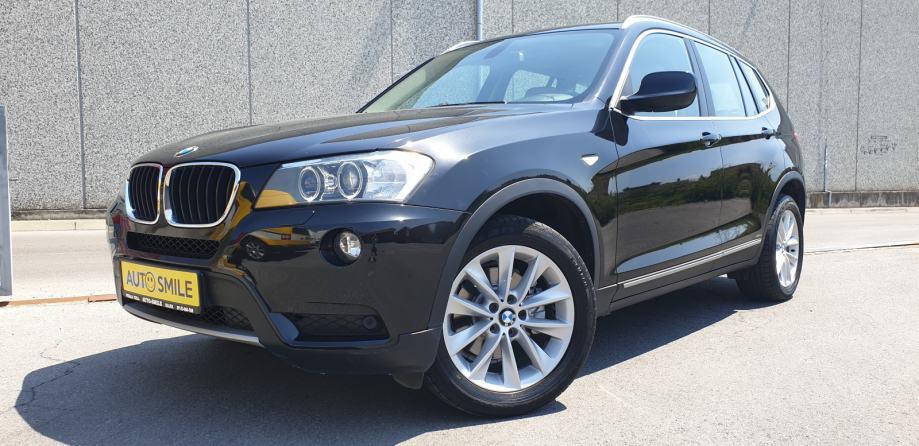 BMW X3 xDrive20d aut. BIXENON, NAVI, PDC...