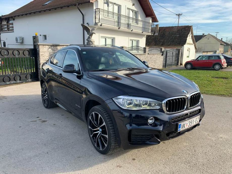 BMW X6 XDRIVE 30d M-paket B&O FULL