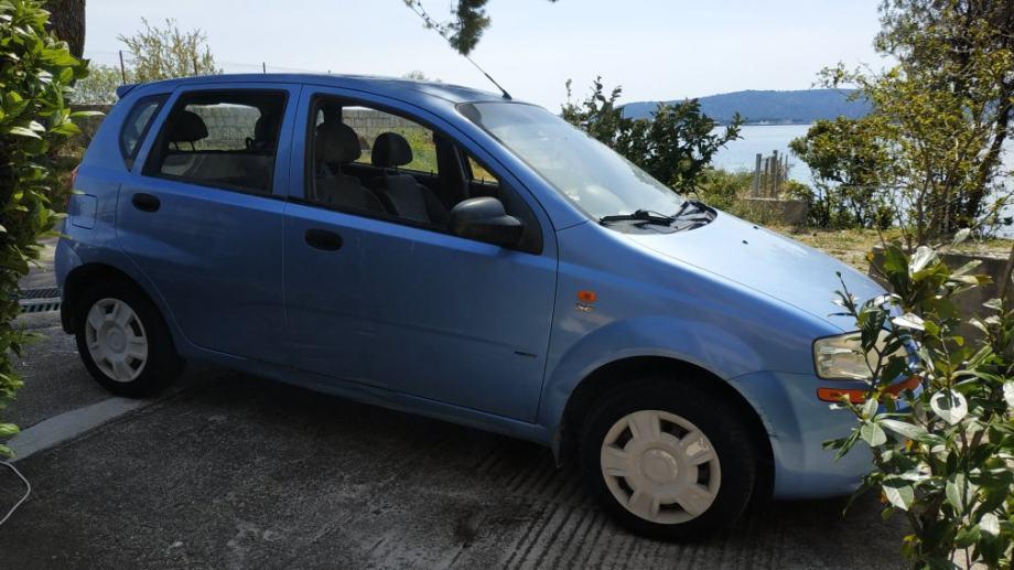Chevrolet Kalos Prvi Vlasnik 109 000 Km Klima Abs Mp3 Usb