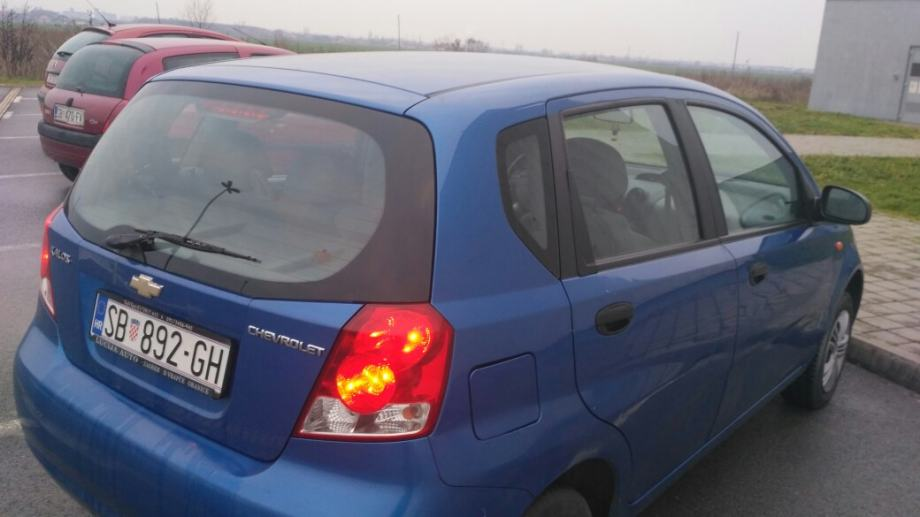 Chevrolet Kalos 1 4 Se 2005 God