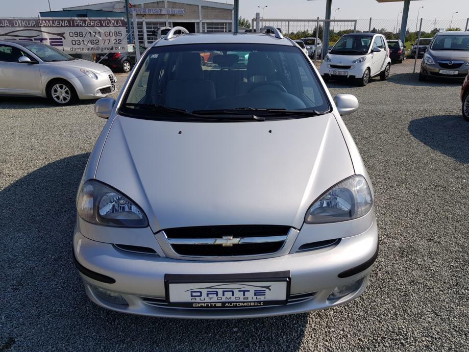 Chevrolet Tacuma 1,6 SX, NIJE UVOZ, SERVISNA, 129000 KM, REG 1/20
