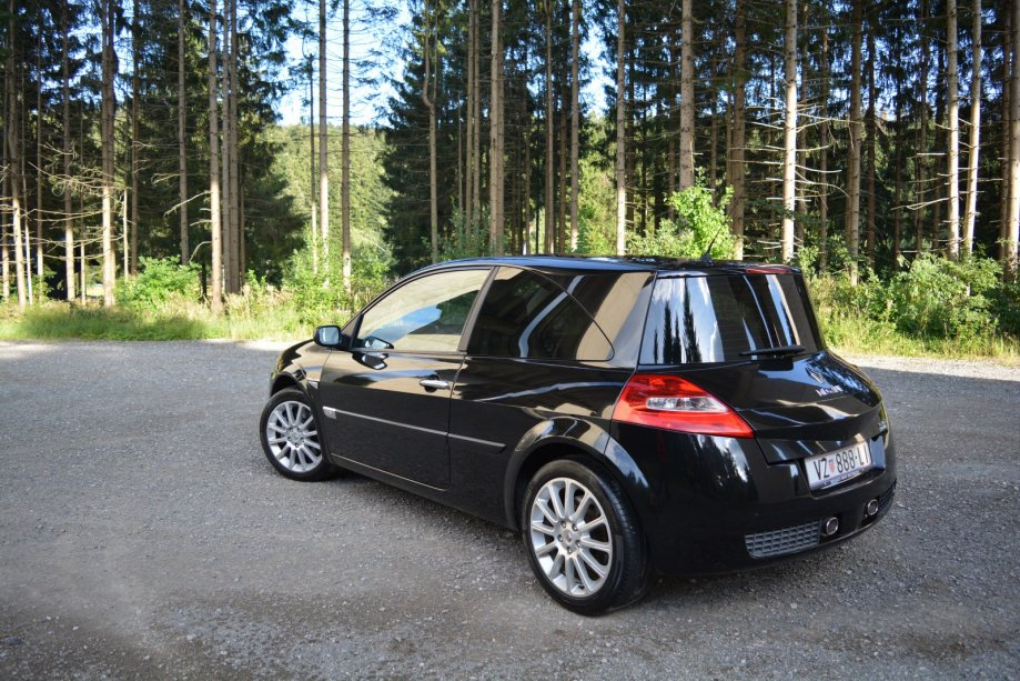 diesel renault megane 2 0 dci rs sport 2007 god. Black Bedroom Furniture Sets. Home Design Ideas