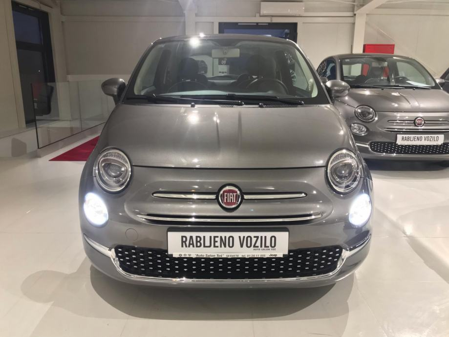 Fiat 500 1,2 8V Dolce - DOSTUPNO ODMAH - PRODULJENO JAMSTVO 5+ !!!