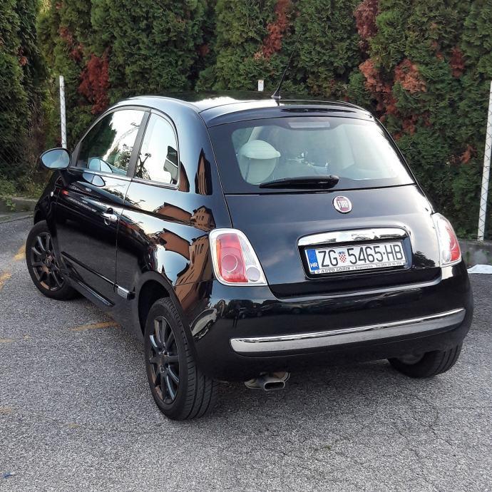 Fiat 500 1,2 8V. SERVISIRAN, REGISTRIRAN, SERVISNA