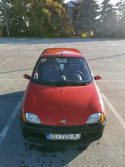 Fiat Seicento 1100 Young, registriran do 10/2020