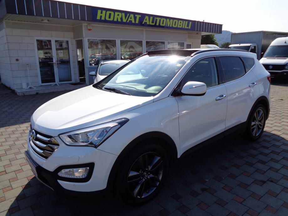 Hyundai Santa Fe 2,2 CRDi; HR; Automatik; 4x4; Navi; Koža; Pano.; Full