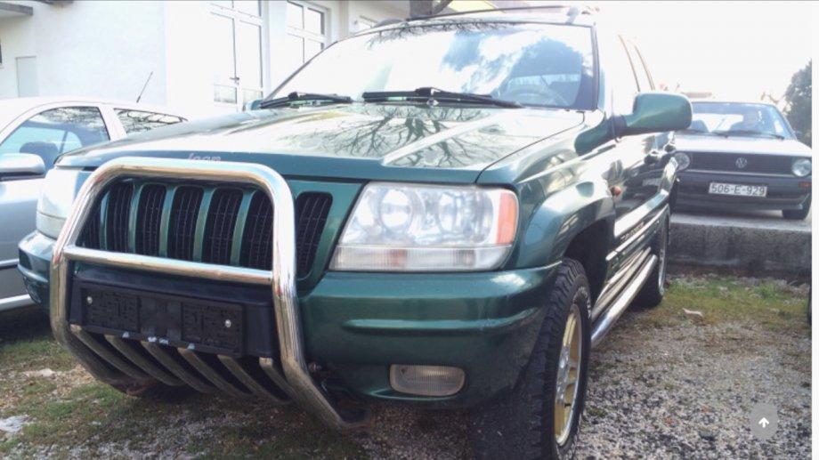 Jeep Grand Cherokee 3,1 TD motor mjenjac dijelovi