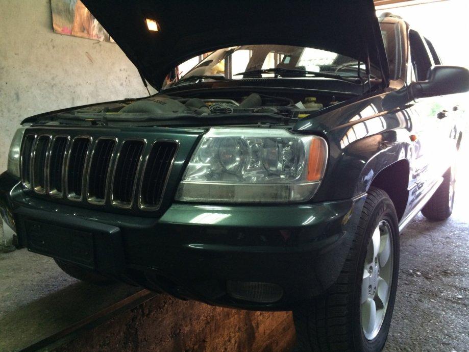 Jeep Grand Cherokee 3,1 TD dijelovi,motor,mjenjač,reduktor