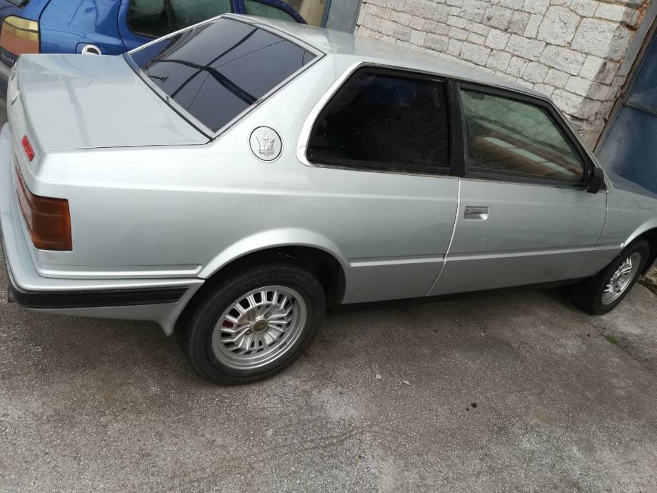 Maserati Biturbo E, 1984 god.