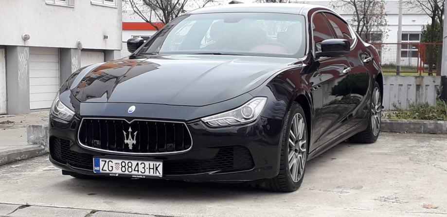 Maserati Ghibli 3.0 Diesel automatik, 2016 god.