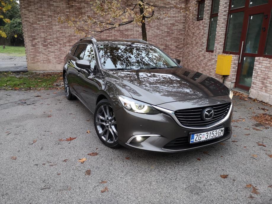 Mazda 6 CD175 wagon, automatik, REVOLUTION TOP oprema