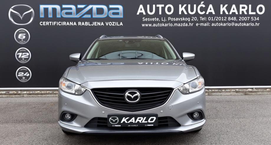 Mazda 6 Sport Combi CD150AT *1GOD. GARANCIJE* *NAVI* *PARKING SENZORI*