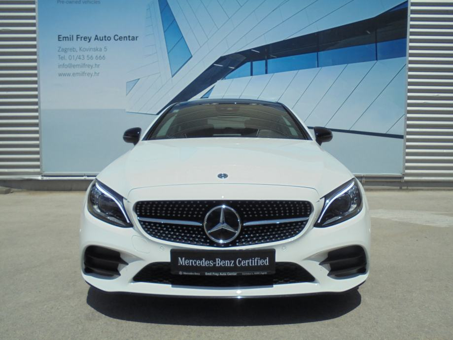Mercedes-Benz C-klasa Coupe 220 d AMG Line + Night paket