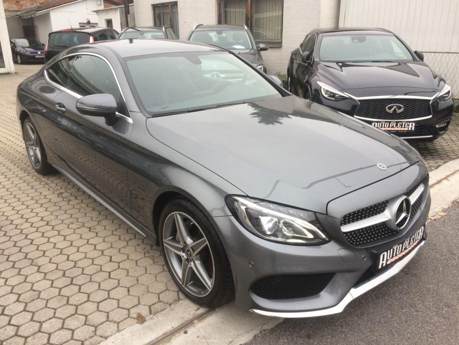 Mercedes-Benz C Coupe 220d AMG-line, 56.357km, 9 BRZINA, 4X GARANCIJE!