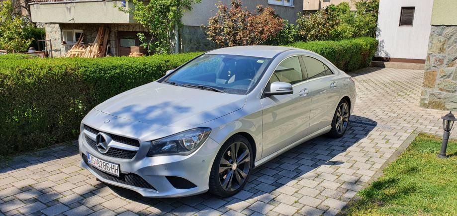 Mercedes-Benz CLA 200 CDI , Registriran godinu dana, Kamera,