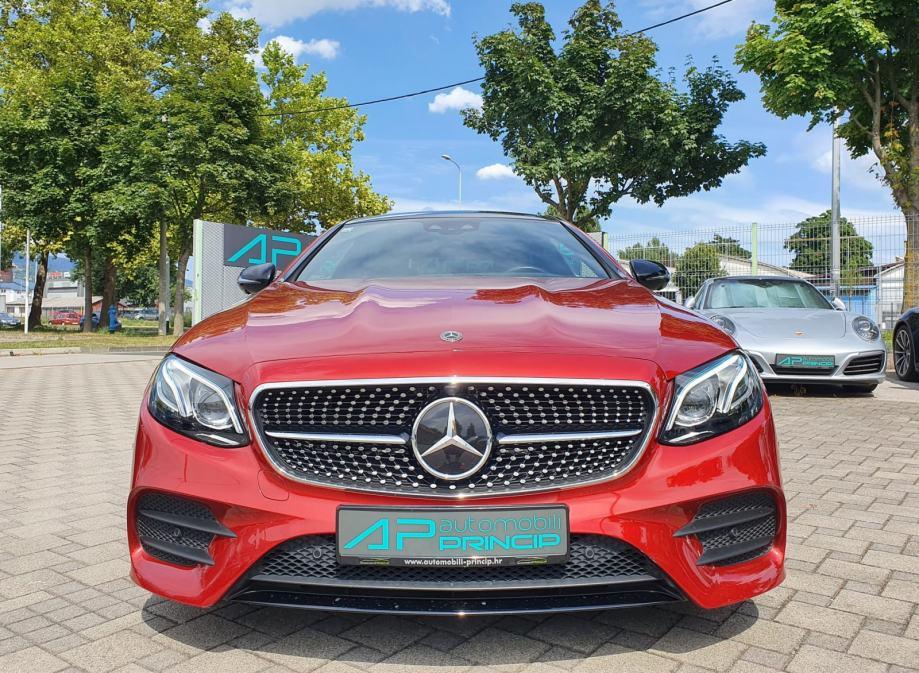 Mercedes-Benz E 220d Coupe AMG Line /360°/HUD/Pano/Lane/LED/WideSC/20'
