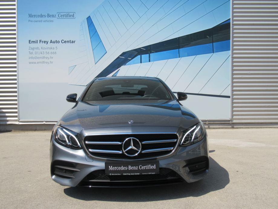 Mercedes-Benz E-klasa 220 d AMG Line + Night paket