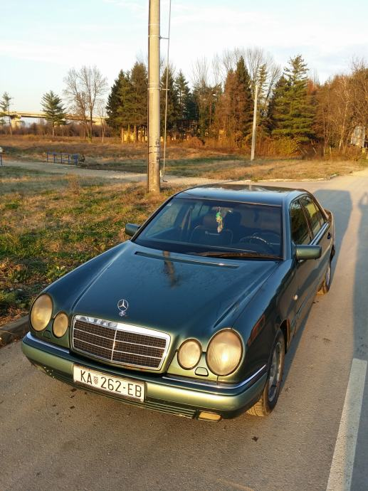 Mercedes-Benz E-klasa 290 TD, registriran do 03/2020,
